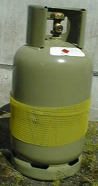 GASFLES STAAL 10 KG